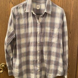 Gap flannel
